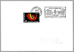 Hermanamiento CAGNES SUR MER (Francia) Y PASSAU (Alemania) - Jumelage. Cagnes Sur Mer 1973 - Timbres
