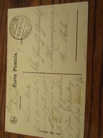 Carte Postale D'YPRES En Feldpost : Bahnhof LOWEN (en Mauve Mais Frappe Faible) Et Cachet à Pont De LOEWEN (1915) - Weltkrieg 1914-18