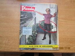 Piccolo Weekblad  9 November 1958  Cover : Noelle Adam    Back : Anne Heywood - Poésie