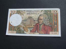 10 Dix Francs VOLTAIRE 3-3-1966   **** EN ACHAT IMMEDIAT **** - 1962-1997 ''Francs''