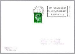 Hermanamiento EPINAY SUR SEINE (Francia) Y OBERURSEL (Alemania) - Jumelage. Epinay Sur Seine 1974 - Timbres