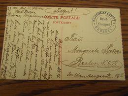 3 Cartes Postales En Feldpost : LAZARET De BRUSSEL, ANTWERPEN Et MALMEDY - Weltkrieg 1914-18