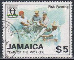 Jamaica, Scott #705, Used, Labor Year, Issued 1988 - Jamaique (1962-...)