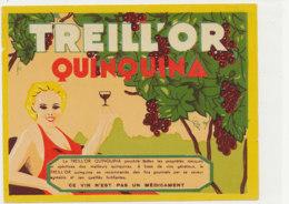 AN 1099 / ETIQUETTE   - TREILL'OR  QUINQUINA - Altri