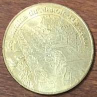 24 LES JARDINS DU MANOIR D'EYRIGNAC MEDAILLE TOURISTIQUE MONNAIE DE PARIS 2006 JETON MEDALS COINS TOKENS - Monnaie De Paris