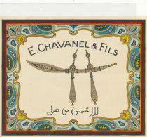 AN 1104 / ETIQUETTE   - E CHAVANEL   & FILS - Altri