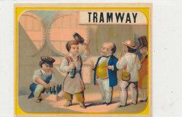 AN 1110 / ETIQUETTE   - TRAMWAY - Altri