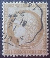 R1286/150 - CERES N°55 - Cachet CONVOYEUR STATION De SAINT-DIZIER (Haute Marne) - TRES BON CENTRAGE - 1871-1875 Cérès