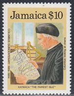Jamaica, Scott #720, Mint Never Hinged, Discovery Of America, Issued 1989 - Jamaica (1962-...)