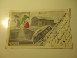 TIAJUANA MEXICO BOUNDARY MONUMENT CHAPEL CUSTOM HOUSE REUBEN DE GUIDE 1902 TO RUSSIA   , OLD POSTCARD   , O - Mexique