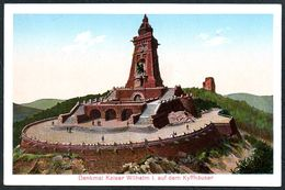 D8174 - Kyffhäuser Kaiser Wilhelm Denkmal - Louis Glaser - Stempel - Monuments