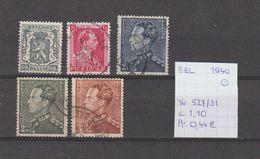 België 1940 - Yv./OCB 527/31 Gest./obl./used - Belgium