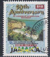 Jamaica, Scott #865C, Used, 50th Anniversary Of Caribbean Integration, Issued 1997 - Jamaica (1962-...)