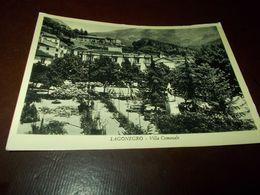 B768  Lagonegro Potenza Villa Comunale Non Viaggiata Scritta Di Matita Al Retro - Other Cities
