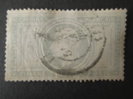 FRANCE Timbre Napoléon 5f 1869 YT 33 - 1863-1870 Napoleon III With Laurels