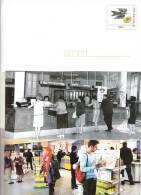 PAP ENTIER POSTAL SERVICE STATIONERY GANZSACHE GS FRANCE MONTIMBRAMOI MONTIMBR@MOI VOEUX POSTIERS 2010 GUICHET - Listos A Ser Enviados: Otros (1995-...)