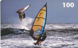 Denmark, D 046, Windsurfer, 2 Scans. - Danemark