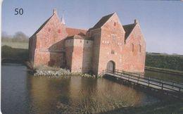 Denmark, D 075, Castles, Spottrup Borg, 2 Scans. - Danemark