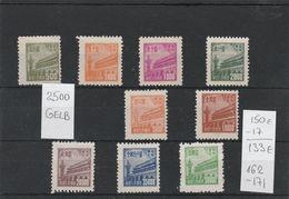 EX-PR - 20-07-09 NORDOST CHINA. MICHEL # 162-171. MISSING 1 STAMP = 133 EURO. - North-Eastern 1946-48