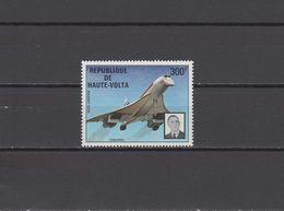 Burkina Faso (Upper Volta) 1974 Aviation Concorde Stamp MNH - Concorde