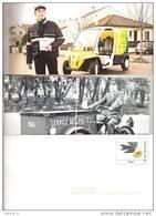 PAP ENTIER POSTAL SERVICE STATIONERY GANZSACHE GS FRANCE MONTIMBRAMOI MONTIMBR@MOI VOEUX POSTIERS 2010 HOMME - Listos A Ser Enviados: Otros (1995-...)