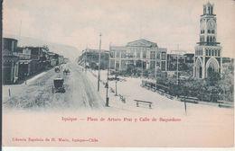 Iquique - Plaza De Arturo Prat Y Calle De Baquedano - Chili