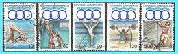 GREECE -GRECE - HELLAS 1991: Mediterranean Games 1991 Compl. Set Used - Greece