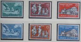 100.Jahre Zeitung L Osservatore Romano 1961 Mi 369-374 Yv 322-327 POSTFRIS / MNH / **  VATICANO VATICAN VATICAAN - Neufs