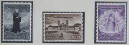 Saint Meinrad / Monestry Einsiedeln 1961 Mi 363-365 Yv 316-318 POSTFRIS / MNH / ** VATICANO VATICAN VATICAAN - Neufs