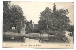 Confluent De L'Huisne Et De La Sarthe - PENICHE - France