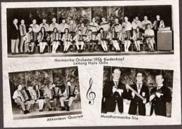 Harmonika-Orchester 1956 Biedenkopf - Akkordeon-Quartett Un Mundharmonika-Trio - Musica