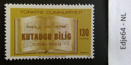 Turkije 1969 900 Jaar Kutadgu Bilig - 1921-... República