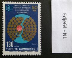 Turkije 1969 Congres Internationale Handelskamers - 1921-... República