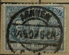 NETHERLANDS/HOLLAND-QUEEN WILHELMINA,ARNHEN STAMP -USED STAMP - 1891-1948 (Wilhelmine)