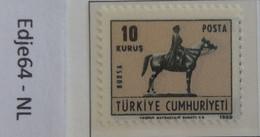 Turkije 1969 Frankeerzegel Voor Ansichtkaarten - 1921-... República