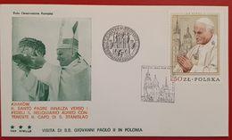 POLSKA POLAND WIZYTA PAPIEZA JANA PAWLA II W POLSCE KRAKOW 1979 POPE JOHN PAUL II VISIT POLAND - 1944-.... Republic