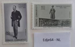 Turkije 1969 50 Jaar Erzurum Congres - 1921-... República