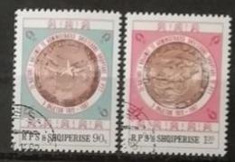 Albanie 1987 / Yvert N°2157-2158 / Used - Albanien