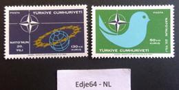 Turkije 1969 20 Jaar NAVO/NATO - 1921-... República