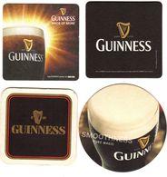 Sous Bock De Bière Guinness X 4 - Sous-bocks