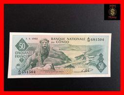 CONGO 50 Francs  1.4.1962   P. 5  XF \ AU - Democratische Republiek Congo & Zaire