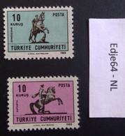 Turkije 1968 Frankeerzegels Voor Postkaarten - 1921-... República