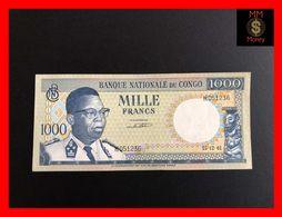 CONGO 1.000 1000 Francs  15.12.1961  P. 8   XF - Democratische Republiek Congo & Zaire