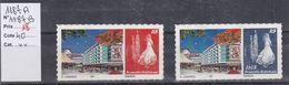Timbres Personnalisés Adhésifs NOUVELLE CALEDONIE N° 1187A Et 1187B Avec Logo Cagou . Rares . Petits Tirages - Unused Stamps