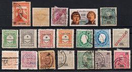 Portogallo (Pörtugal) - Cabo Verde – Lotto Di 19 Francobolli Linguellati E Usati - Cap Vert