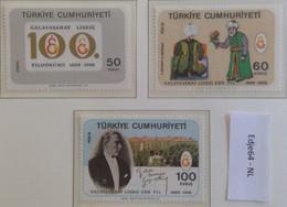 Turkije 1968 100 Jaar Galatasaray Lyceum - 1921-... República