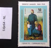 Turkije 1968 100 Jaar Veiligheidskas - 1921-... República