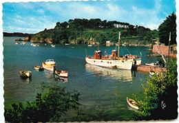 22* ILE DE BREHAT  (CPM 10X15cm) Le Port Clos, L'embarcadere De Haute Mer - Ile De Bréhat
