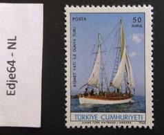 Turkije 1968 Kismet Tocht Om De Wereld - 1921-... República