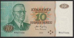 Finland 10 Markka 1980 P111 (sign. Karjalainen&Helenius) UNC - Finlandia
